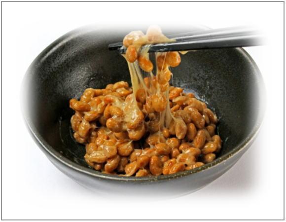 納豆はたんぱく質が多い
